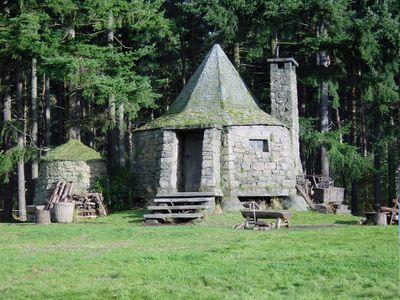 Hagrid's hut movie