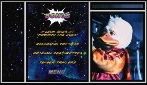 DUCK menu 2