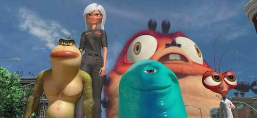 MONSTERS VS ALIENS still
