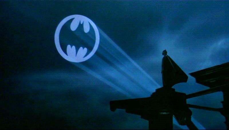 BATMAN batsignal