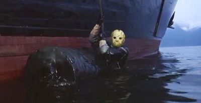 FRIDAY THE 13TH PART 8 Jason water