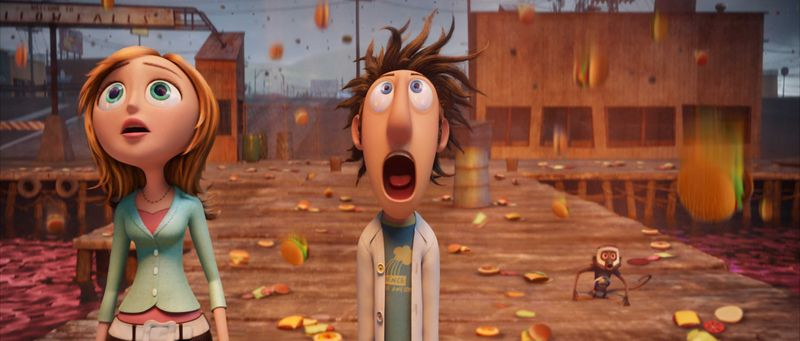 CLOUDY WITH A CHANCE OF MEATBALLS Surprise
