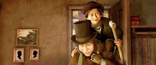 Brianorndorf Com Film Review Disney S A Christmas Carol 3 D 2009