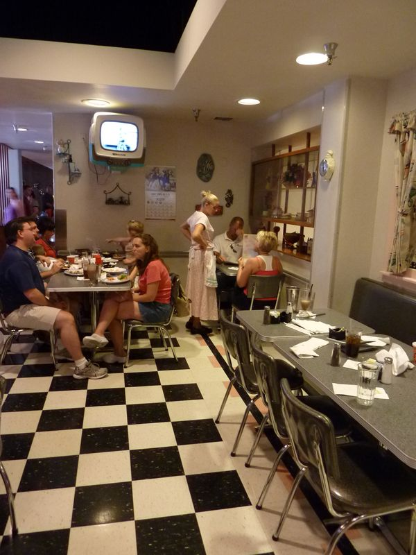 Brianorndorf Com The 50 S Prime Time Cafe At Disney S