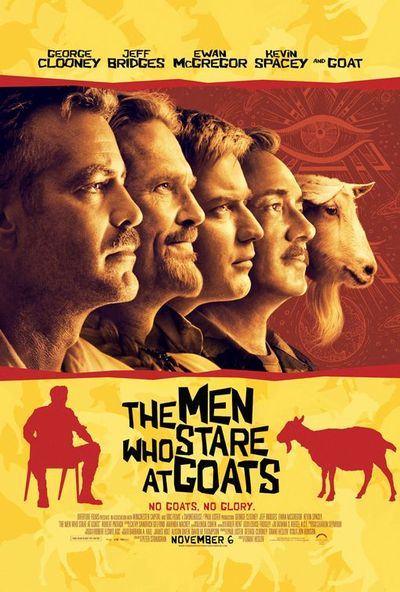 MEN WHO STARE AT GOATS