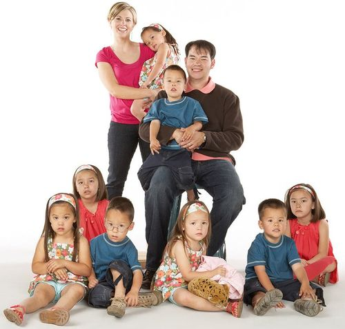 JON AND KATE family 1