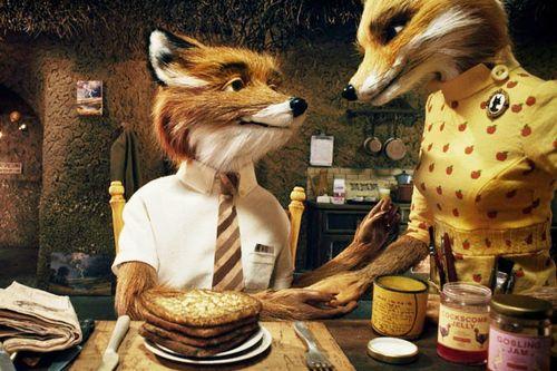 FANTASTIC MR. FOX Fox and Wife