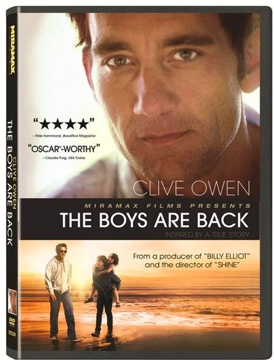 BOYS ARE BACK DVD cover