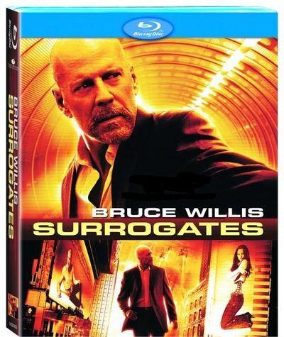 SURROGATES Blu-Ray Cover