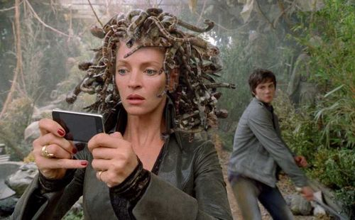 PERCY JACKSON Uma Thurman ipod