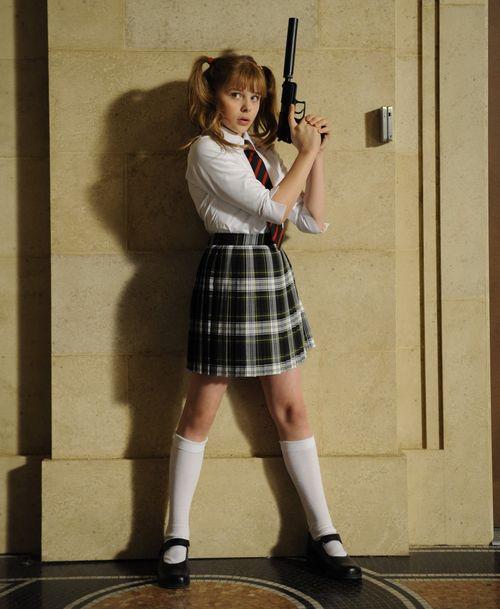 KICK-ASS Hit-Girl Schoolgirl