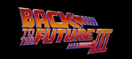 BACK TO THE FUTURE PART III Title