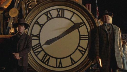 BACK TO THE FUTURE PART III Clock Tower