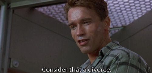 TOTAL RECALL Divorce