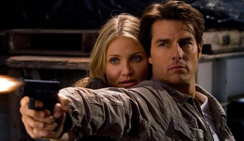 KNIGHT AND DAY Tom Cruise