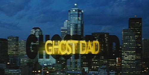 GHOST DAD Title