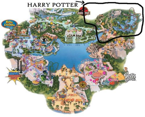 The Wizarding World of Harry Potter - A Construction ...