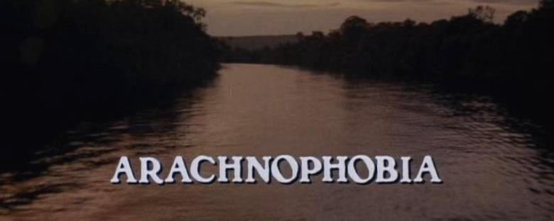 ARACHNOPHOBIA Title