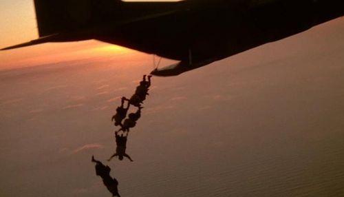 NAVY SEALS Plane Jump