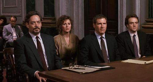 PRESUMED INNOCENT Courtroom
