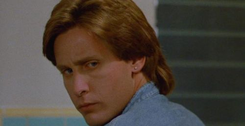 MEN AT WORK Emilio Estevez Mullet