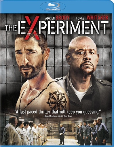 EXPERIMENT Blu-ray Cover