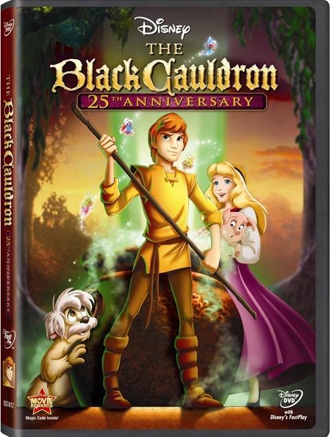 BLACK CAULDRON DVD Cover
