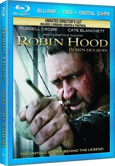 ROBIN HOOD Blu-ray Cover