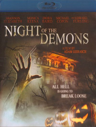 NIGHT OF THE DEMONS 2010 Blu-ray Cover