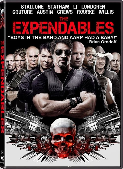 EXPENDABLES DVD Cover