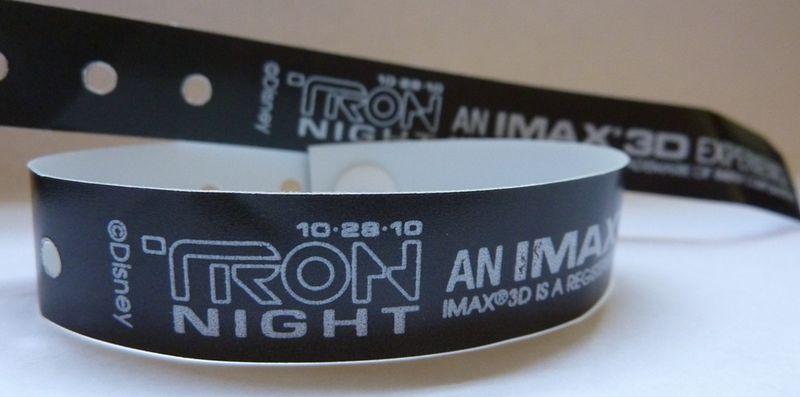 Tron Night wristband