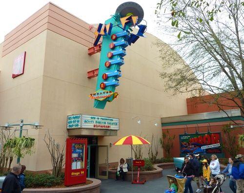 my favorite Walt Disney World restaurants, The Sci-Fi Dine-In Theater,