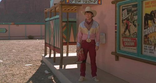 BACK TO THE FUTURE PART III Marty McFly Cowboy