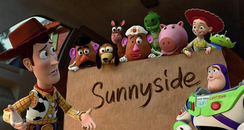 TOY STORY 3 Sunnyside Cast