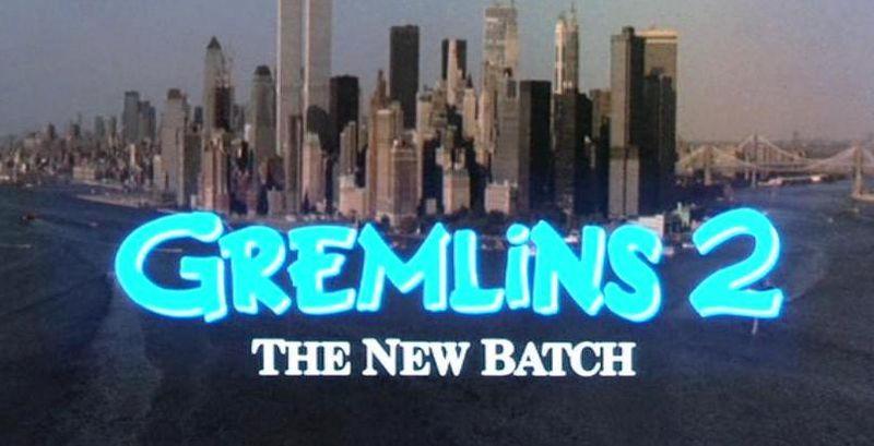 GREMLINS 2 title