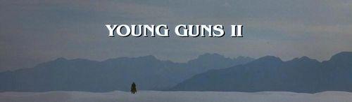 YOUNG GUNS II Title