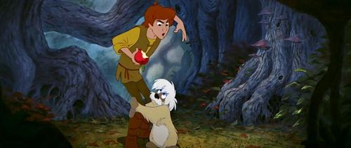 BLACK CAULDRON Gurgi