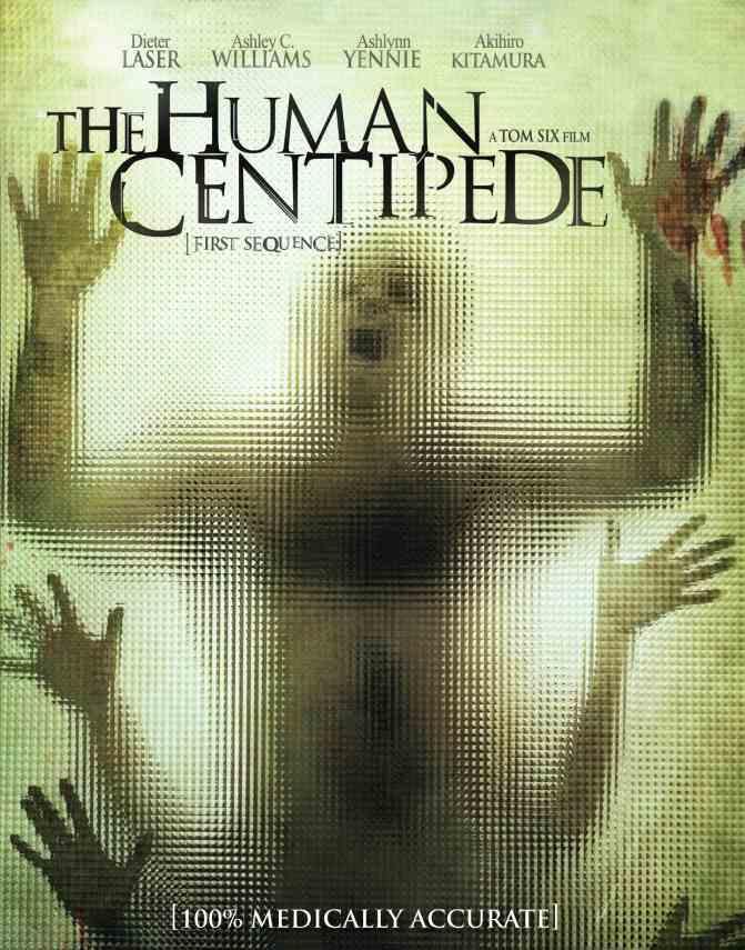 HUMAN CENTIPEDE DVD Cover