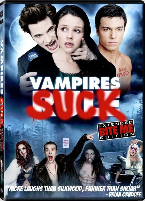 VAMPIRES SUCK DVD Cover