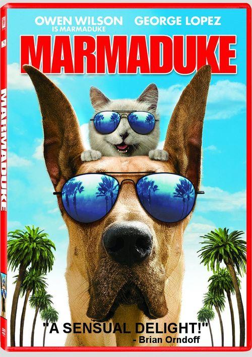 MARMADUKE DVD Cover