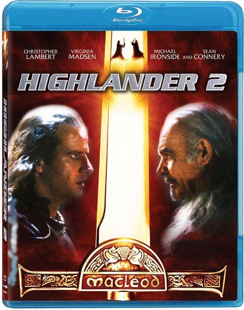 HIGHLANDER 2 Blu-ray cover