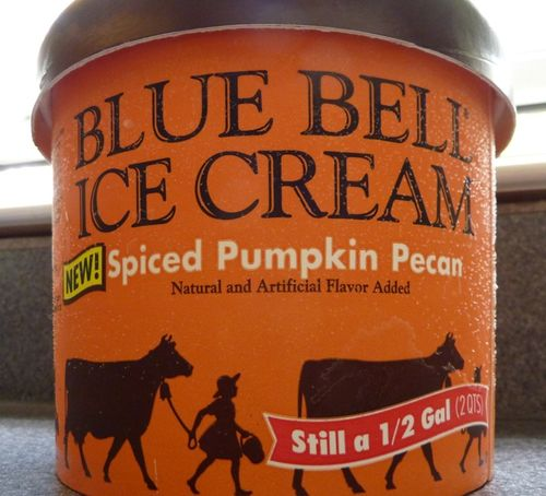 Spiced Pumpkin Pecan Blue Bell 2