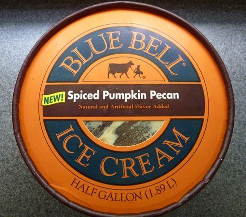 Spiced Pumpkin Pecan Blue Bell 1