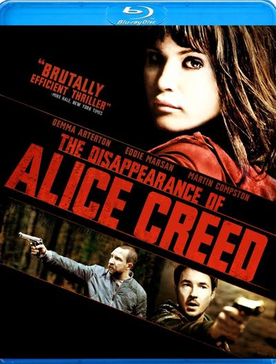 DISAPPEARANCE OF ALICE CREED Blu-ray Review