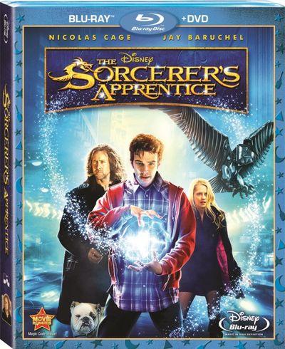 SORCERER'S APPRENTICE Blu-ray Cover