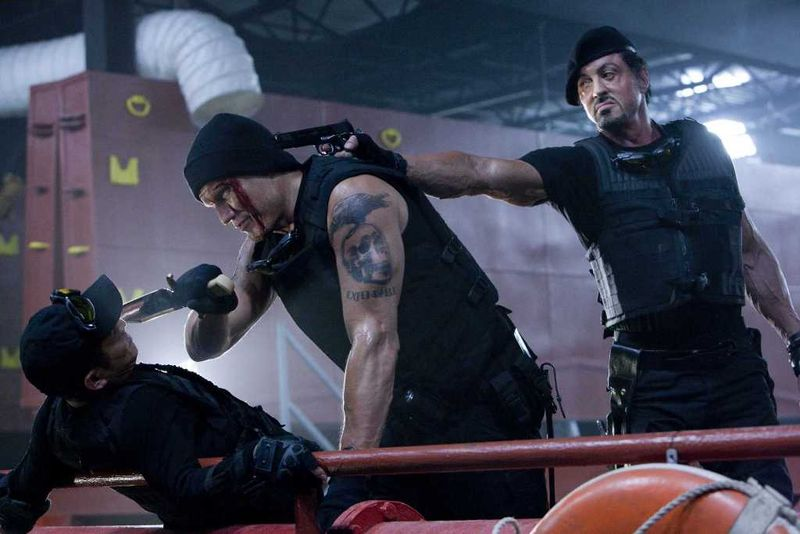 EXPENDABLES Blu-ray 1