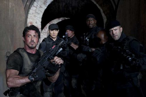 EXPENDABLES Blu-ray 2