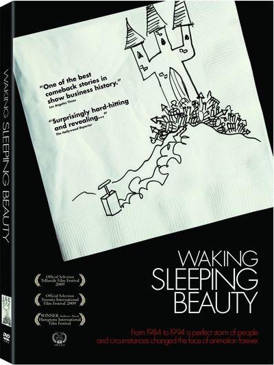 WAKING SLEEPING BEAUTY DVD Cover