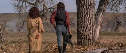 DANCES WITH WOLVES Stands with a Fist