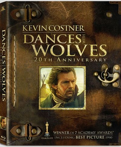 DANCES WITH WOLVES Blu-ray Cover